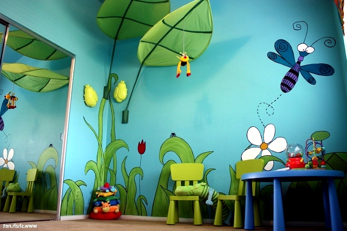17 Kidsroom Wallpaper Mural Ideas For Decor Kids Room