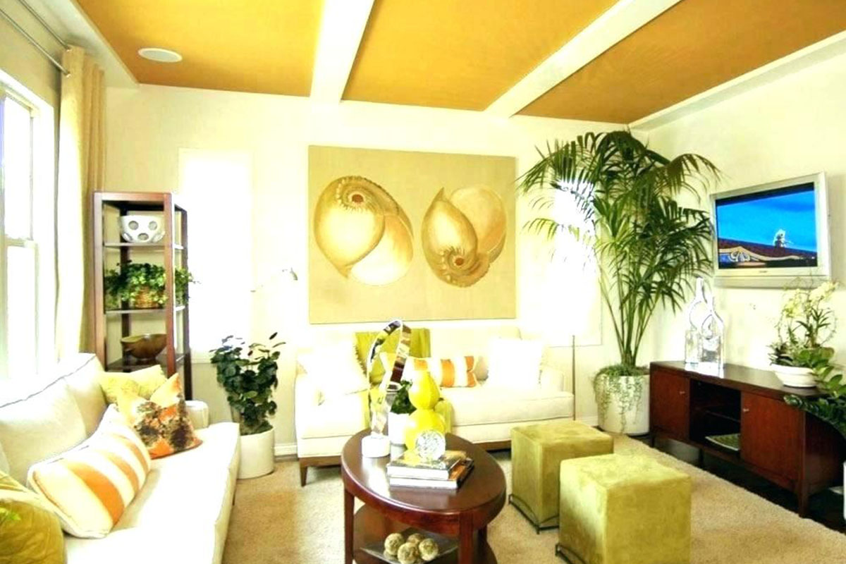 Yellow Painted Ceilings | Timeless Magazines